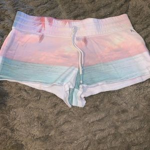 Victoria's Secret Booty Shorts Sunset Size Large